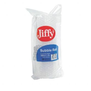 Jiffy Bubble Wrap - Small Bubble 300mmx3m / Pack of 20